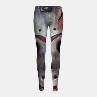 Thumbnail image of Happy Friday Mask Girl's leggings, Live Heroes