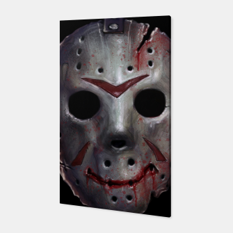 Thumbnail image of Happy Friday Mask Canvas, Live Heroes