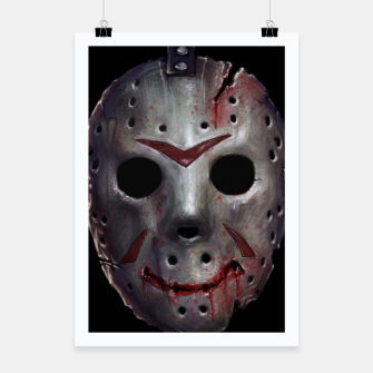 Thumbnail image of Happy Friday Mask Poster, Live Heroes