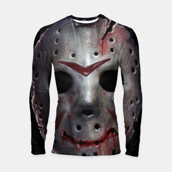 Thumbnail image of Happy Friday Mask Longsleeve rashguard , Live Heroes