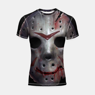 Thumbnail image of Happy Friday Mask Shortsleeve rashguard, Live Heroes