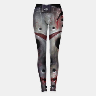 Thumbnail image of Happy Friday Mask Leggings, Live Heroes