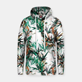 Thumbnail image of Beautiful birds in paradise Sudadera con capucha de algodón, Live Heroes