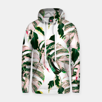 Thumbnail image of Big beautiful monstera Sudadera con capucha de algodón, Live Heroes