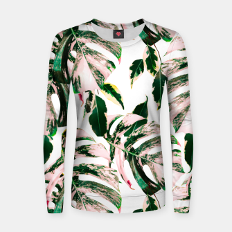 Thumbnail image of Big beautiful monstera Sudadera de algodón para mujer, Live Heroes