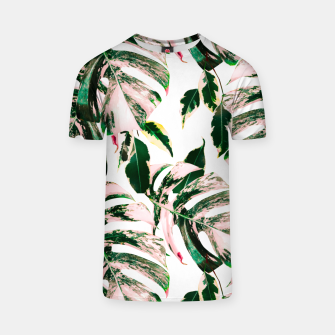 Thumbnail image of Big beautiful monstera Camiseta, Live Heroes