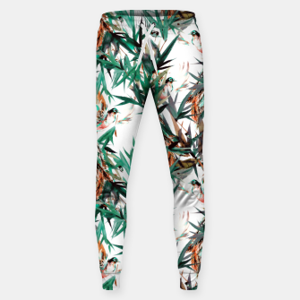 Thumbnail image of Beautiful birds in paradise Pantalones de chándal de algodón, Live Heroes