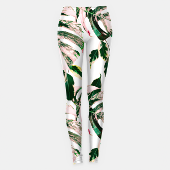 Thumbnail image of Big beautiful monstera Leggings, Live Heroes
