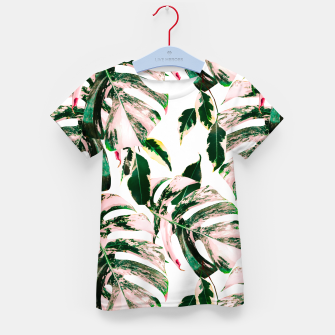 Thumbnail image of Big beautiful monstera Camiseta para niños, Live Heroes