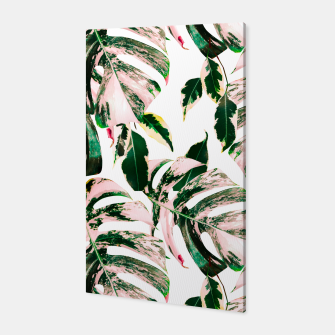 Thumbnail image of Big beautiful monstera Canvas, Live Heroes