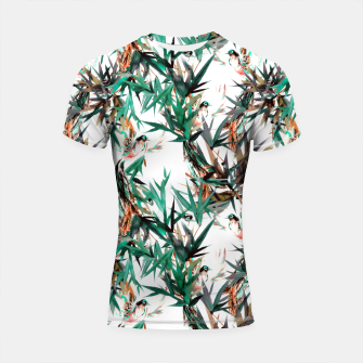 Thumbnail image of Beautiful birds in paradise Shortsleeve rashguard, Live Heroes