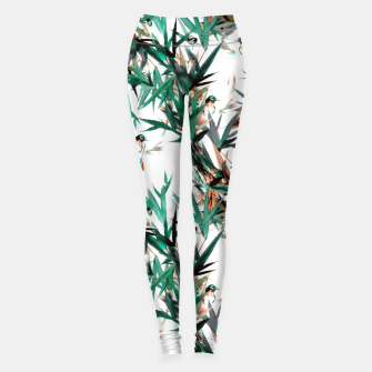 Thumbnail image of Beautiful birds in paradise Leggings, Live Heroes