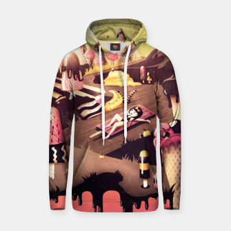 Thumbnail image of Iceland Cotton hoodie, Live Heroes