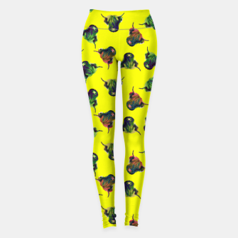 Thumbnail image of Cow in Yellow  Leggings, Live Heroes