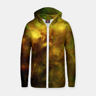 Thumbnail image of Nebula Storm Cotton zip up hoodie, Live Heroes