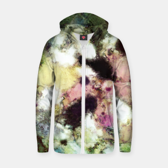 Thumbnail image of Choices Cotton zip up hoodie, Live Heroes