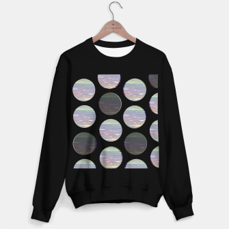 Thumbnail image of dots white black  Sweater regular, Live Heroes