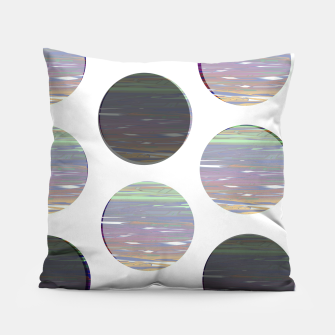 Thumbnail image of dots white black  Pillow, Live Heroes