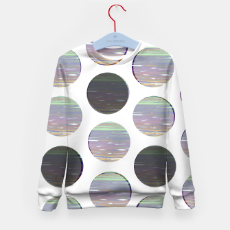 Thumbnail image of dots white black  Kid's sweater, Live Heroes