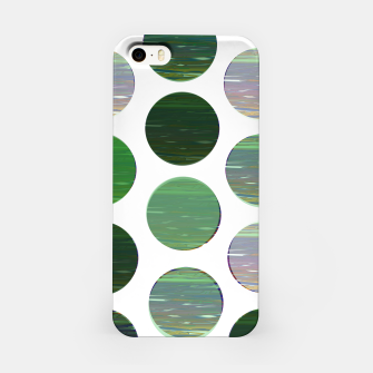 Thumbnail image of dots green  iPhone Case, Live Heroes