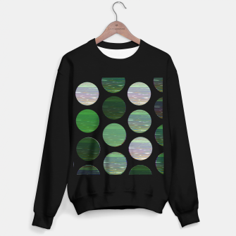 Thumbnail image of dots green  Sweater regular, Live Heroes