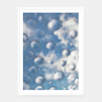 Miniaturka Skybubbles #nature #abstract #art #liveheroes |  Framed poster, Live Heroes