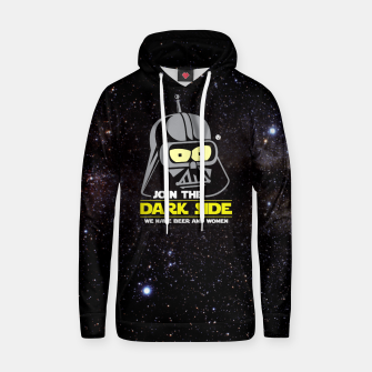 Star Wars Futurama - Join the Dark Side Bawełniana bluza z kapturem obraz miniatury