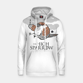 Miniaturka Game of Thrones - The High Sparrow Bawełniana bluza z kapturem, Live Heroes