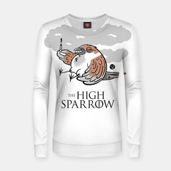 Miniaturka Game of Thrones - The High Sparrow Bluza bawełniana damska, Live Heroes