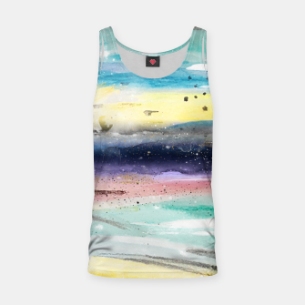 Thumbnail image of Summer watercolor abstract art design Tank Top, Live Heroes