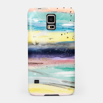 Thumbnail image of Summer watercolor abstract art design Samsung Case, Live Heroes