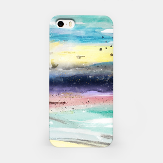 Thumbnail image of Summer watercolor abstract art design iPhone Case, Live Heroes