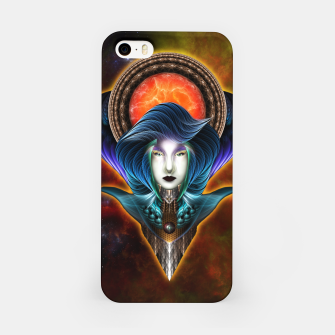 Thumbnail image of Trilia Red Nebula Portrait iPhone Case, Live Heroes