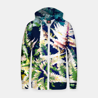 Thumbnail image of Wild Jungle Cotton zip up hoodie, Live Heroes
