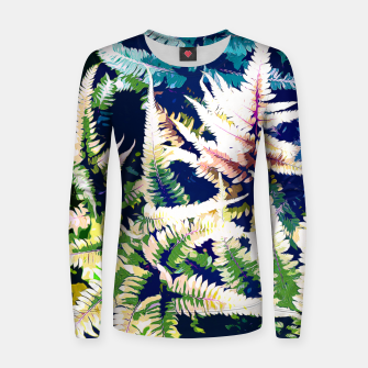 Thumbnail image of Wild Jungle Woman cotton sweater, Live Heroes