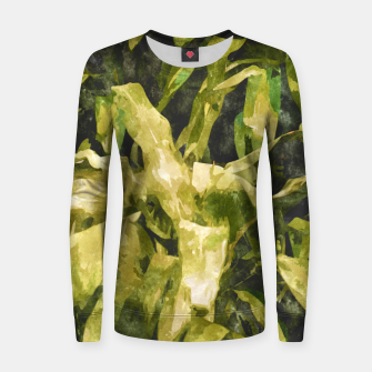 Thumbnail image of Green Nature Woman cotton sweater, Live Heroes