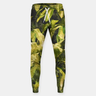 Thumbnail image of Green Nature Cotton sweatpants, Live Heroes