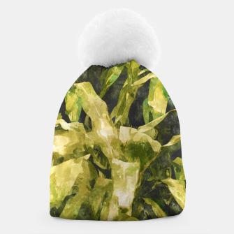 Thumbnail image of Green Nature Beanie, Live Heroes
