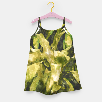 Thumbnail image of Green Nature Girl's dress, Live Heroes