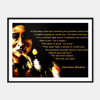 Thumbnail image of Cherokee Wisdom For You, Live Heroes