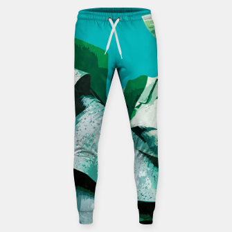 Thumbnail image of Banana Life Cotton sweatpants, Live Heroes