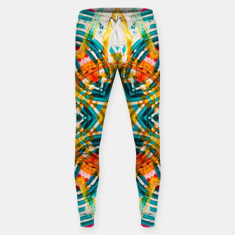 Thumbnail image of KaleidoMandala v2  Cotton sweatpants, Live Heroes