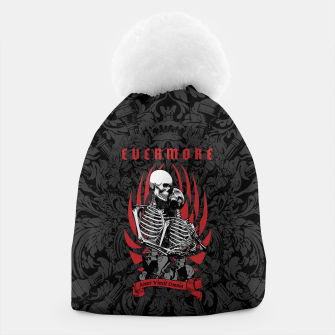 Thumbnail image of Evermore Gothic Skeleton Lovers Beanie, Live Heroes