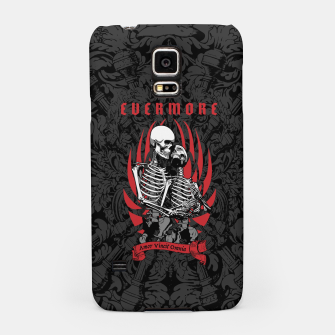 Thumbnail image of Evermore Gothic Skeleton Lovers Samsung Case, Live Heroes