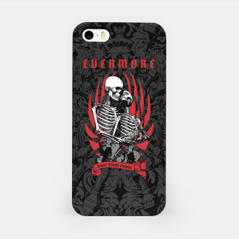 Miniaturka Evermore Gothic Skeleton Lovers iPhone Case, Live Heroes