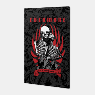 Miniaturka Evermore Gothic Skeleton Lovers Canvas, Live Heroes