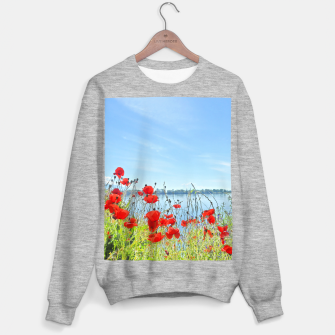 Thumbnail image of Poppies On The Lake Sweater regular, Live Heroes