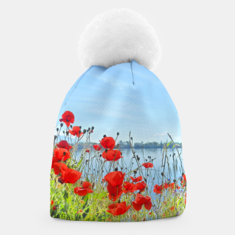 Thumbnail image of Poppies On The Lake Beanie, Live Heroes