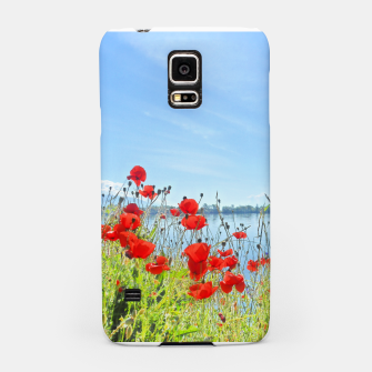 Thumbnail image of Poppies On The Lake Samsung Case, Live Heroes