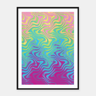 Thumbnail image of Rainbow 13 Framed poster, Live Heroes
